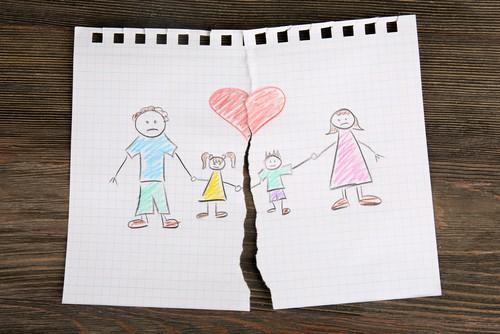 separação com filhos